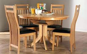 oak dining table and bench set used round painted drop leaf chair round oak dining table