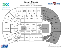 Intrust Bank Arena Seating Chart For Wwe Seating Charts Events Tickets Intrust Bank Arena
