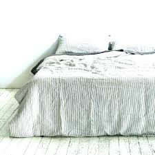 blue and white duvet covers king grey cover ikea striped nz