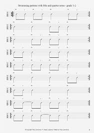Guitar Strumming Patterns Best Strumming Patterns With 48ths And Quarter Notes