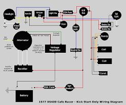 xs360 regulator rectifier wireing yamaha xs400 forum