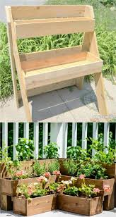 tiered raised bed planters
