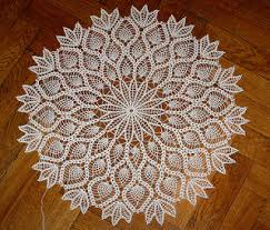 Oval Crochet Doily Patterns Free Delectable 48 Free Pineapple Crochet Doily Patterns You Would Love