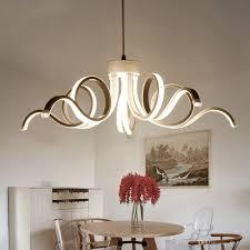 Großhandel Led Moderne Kronleuchter Beleuchtung Neuheit Aluminium