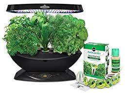 aero garden com. AeroGarden 7 LED Indoor Garden With Gourmet Herb Seed Kit Aero Com