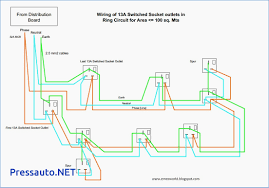 residential wiring diagrams electrical outlet for iron pressauto net how to wire a double outlet at Socket Outlet Wiring Diagram