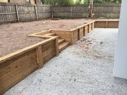 retaining walls nelson builders