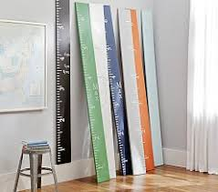 How High To Hang A Growth Chart Lavender Decor Hanging Decor Pottery Barn Kids