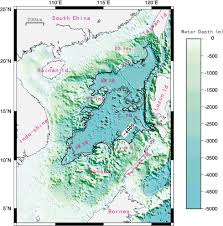 Post Spreading Transpressive Faults In The South China Sea