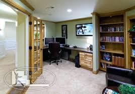 basement office design. Basement Home Office Ideas Design R