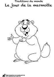 Dessin Imprimer Prefix D Une Marmotte