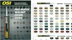 Quad Caulk Color Chart 13 Expository Osi Color Chart