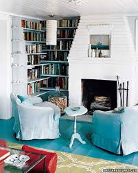 Teal Blue Living Room Blue Rooms Martha Stewart