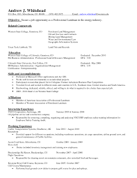 Fascinating Resumes For Oil And Gas Industry Landman Resume