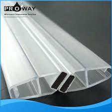 shower door seal strip shower door seal silicone strip waterproof weather strip shower door transpa strip shower door seal strip