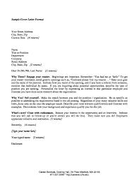 Cover Letter Recent Graduate Sample Cover Letter For Flatoutflat