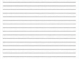 College Ruled Lined Paper Template College Ruled Paper Template 6