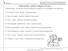 Parts Speech Worksheets | Adverb Worksheets - FREE Printable ...