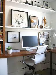 wrap around office desk. custom wraparound desk w builtin shelving an artistic coupleu0027s toronto wrap around office