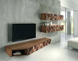 floating wall tv stands floating media center designs for clutter free living room with wall stands