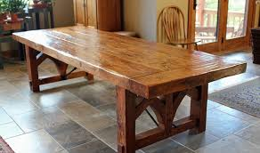 inspirations rustic wood dining room table rustic farm table the perfect complement for your room