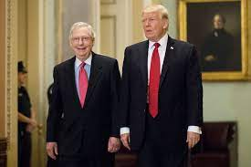 Mitch McConnell Laughs Off Donald's ...
