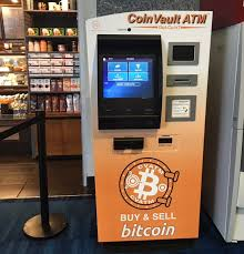 Vending Machine Bitcoin Gorgeous Bitcoin ATM In Houston Discovery Green Parking