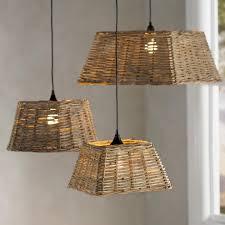 wicker pendant light. Handwoven Rattan Pendant Light Collection Wicker