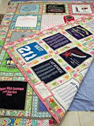 152 best Tee shirt quilts images on Pinterest | Blanket, Memory ... & T-shirt quilt front and back by buggletquilts, via Flickr Adamdwight.com
