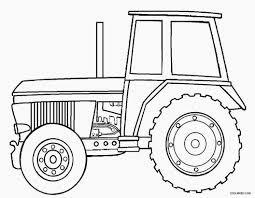 Printable John Deere Coloring Pages For Kids For Farm Tractor