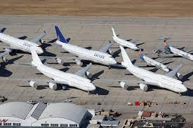 N894ba N895ba Boeing 747 8 Future Air Force Ones Victorville Boeing 747 Boeing 747 8 Air Force Ones