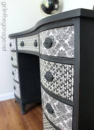 diy decoupage furniture. French Decoupage Desk Makeover - Girl In The Garage Diy Furniture