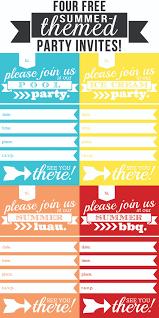 Free Party Invitations Print Oyle Kalakaari Co