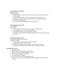 Vector Marketing Resume A Good Resume Example