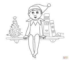 Elf On The Shelf Color Pages - qlyview.com