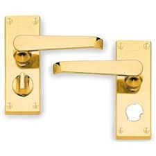 georgian brass bathroom door handles with lock. hoppe cbv31wc wc door handle lock \u2013 victorian polished brass georgian bathroom handles with