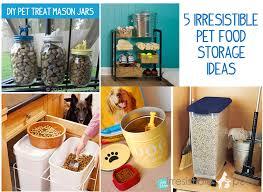 pet food storage ideas. Irresistible Pet Food Storage Ideas And Pets