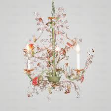 past 3 light botanical crystal small bathroom chandeliers in chandelier lighting idea 13