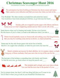 Here are festive printable Christmas Scavenger Hunt Clues that you can use  for holiday fun. Make your family work to find their gifts!