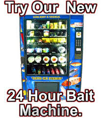 Bait Vending Machine Locations Mesmerizing Cape May Bait And Tackle Home