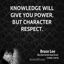 Knowledge Is Power Quote Inspiration Bruce Lee Power Quotes QuoteHD