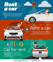 Rent Poster Rent A Car Banner Car For Rent Banner Business Growth Car Loan