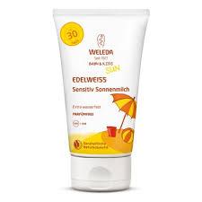 <b>Солнцезащитный крем для младенцев</b> и детей WELEDA SPF 30 ...