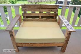 wood pallet patio furniture. Patio Chair Out Of Pallet Wood Furniture