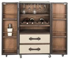 Portable Liquor Cabinet Fox9511a Bar Carts Furniture By Safavieh