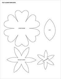 Flowers Templates 101 Best Flower Templates Images In 2019 Flower Template