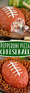 super bowl office party ideas. Craft Ideas · This Pepperoni Pizza Football Cheese Ball Is My New Favorite Thing! Super Easy\u2026 SnacksFootball Party GamesSuperbowl Bowl Office S