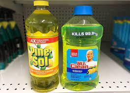 mr clean vs pine sol what s the