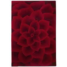 rose tufted rug rose tufted red rug pier 1 imports rose tufted rug