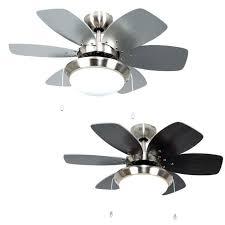 6 blade hunter ceiling fans modern 3 sd silver chrome fan with light s 6 blade ceiling fan